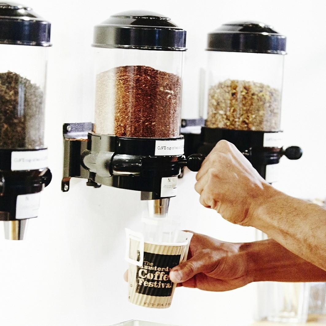 Senza Tea | Losse thee | dispensers| thee op het werk| KoffiePartners