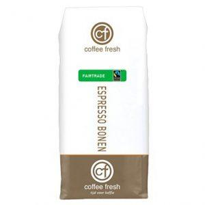 Coffee Fresh espressobonen Fairtrade | Espressobonen machine | KoffiePartners