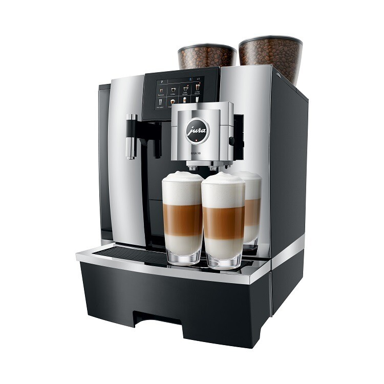 Jura GIGA X8 Chroom | KoffiePartners