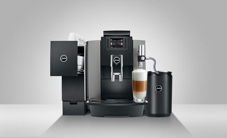 JURA WE8 met accessoires | KoffiePartners