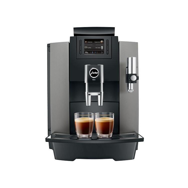 Jura WE 8 Dark Inox | KoffiePartners