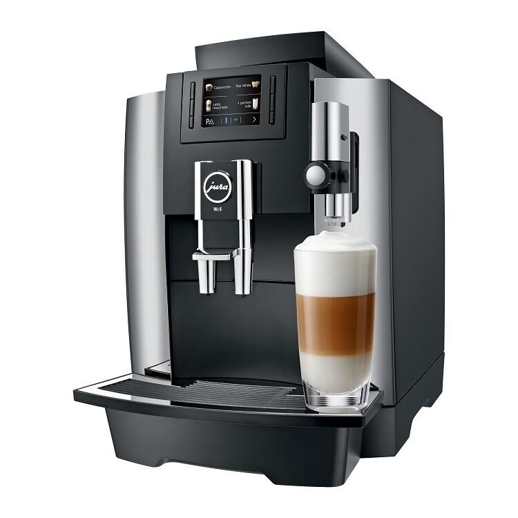 JURA WE8 Chroom | KoffiePartners