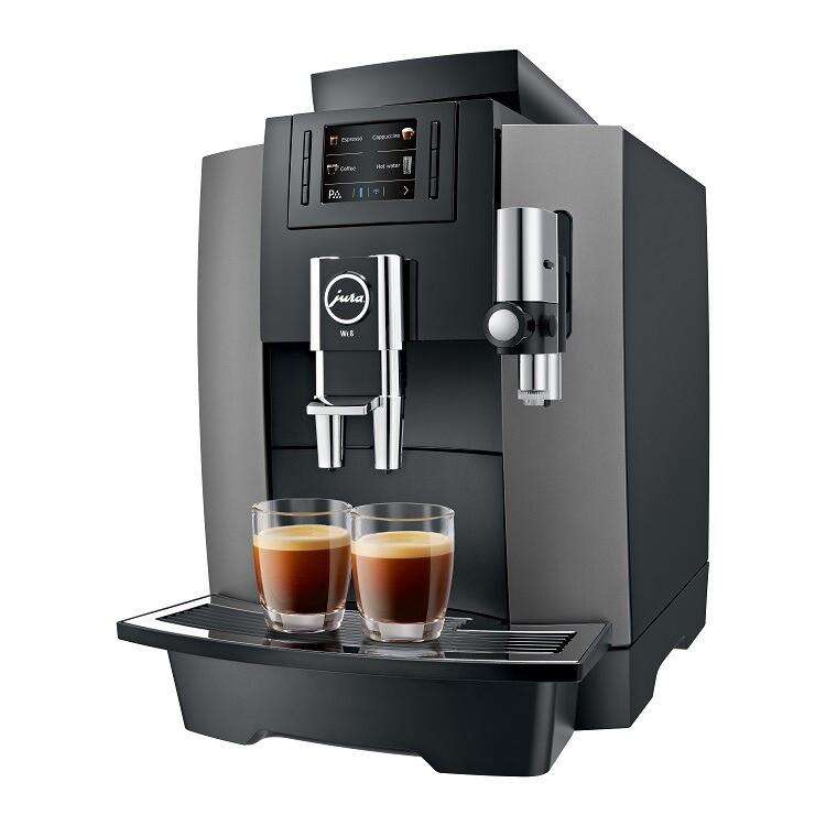 JURA WE8 Dark Inox | KoffiePartners