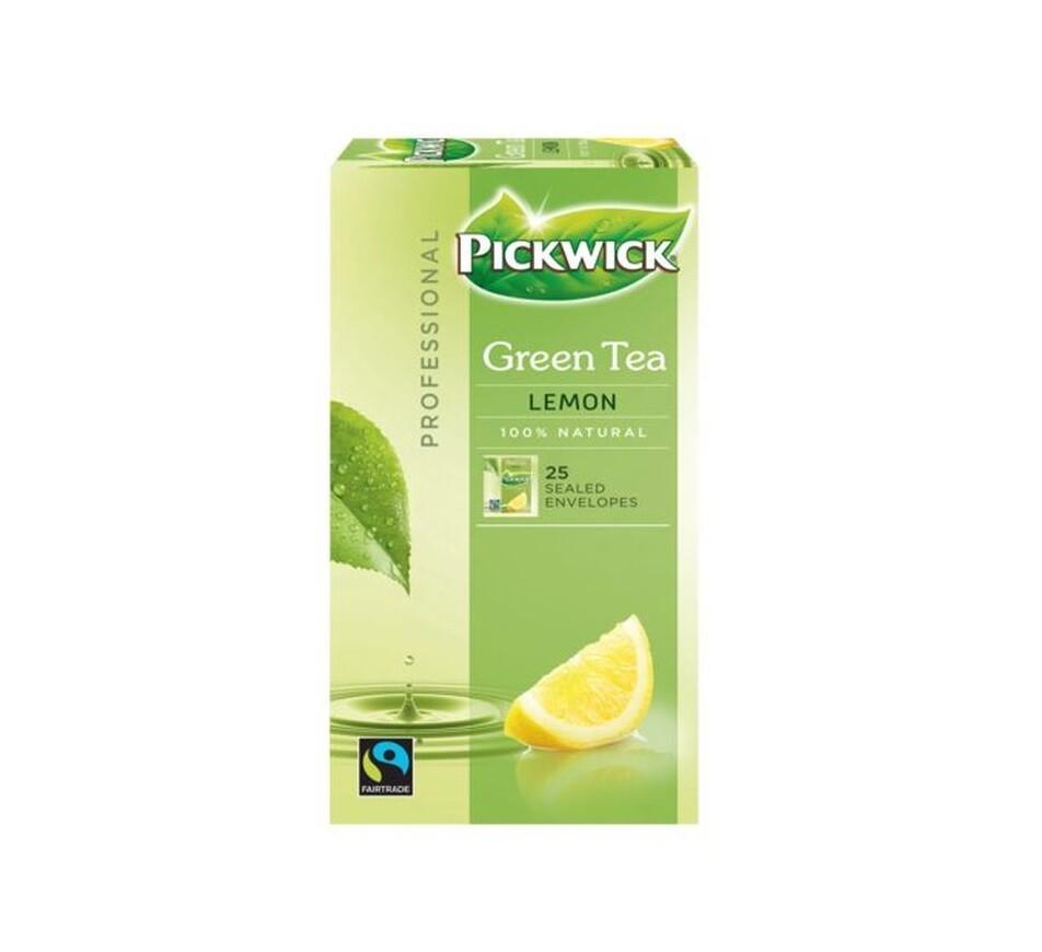 Pickwick green tea lemon | KoffiePartners
