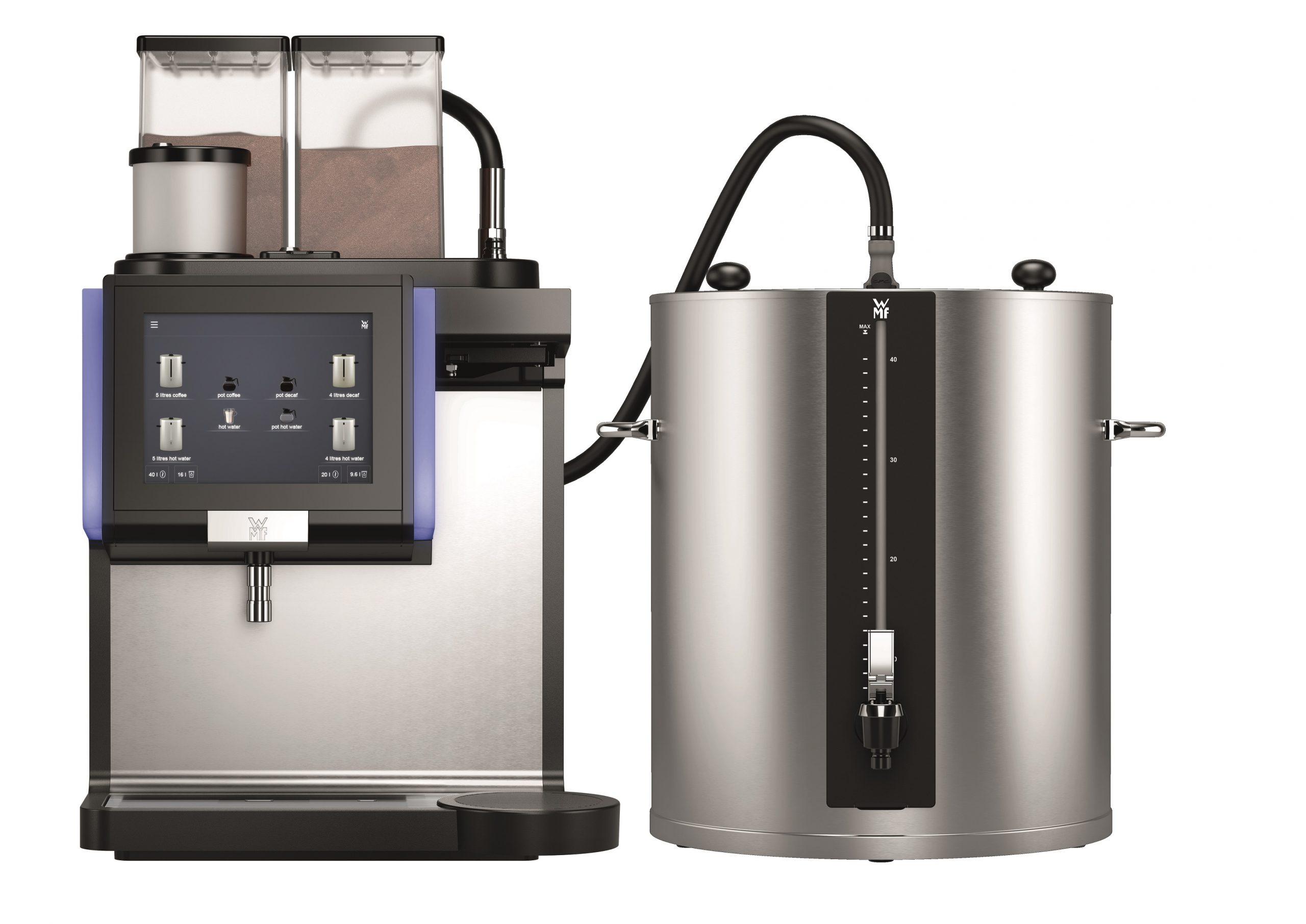 WMF 9000 F met 40 liter container | KoffiePartners