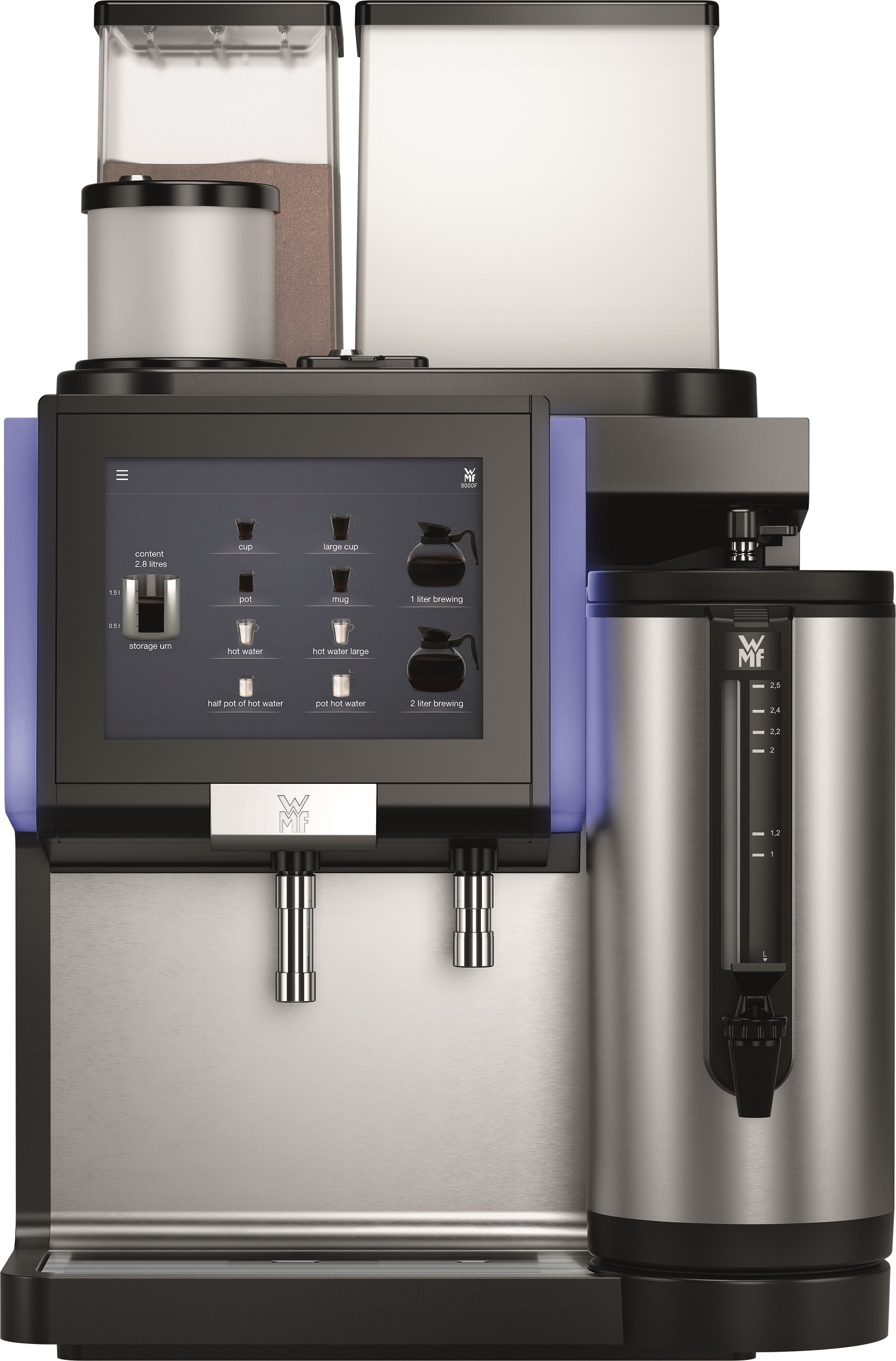 WMF 9000 F met thermoskan | KoffiePartners
