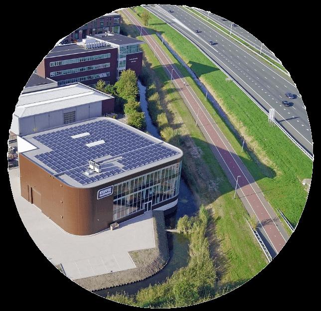 KoffiePartners bedrijfspand met 270 zonnepanelen | Klimaat en energie | Close Future