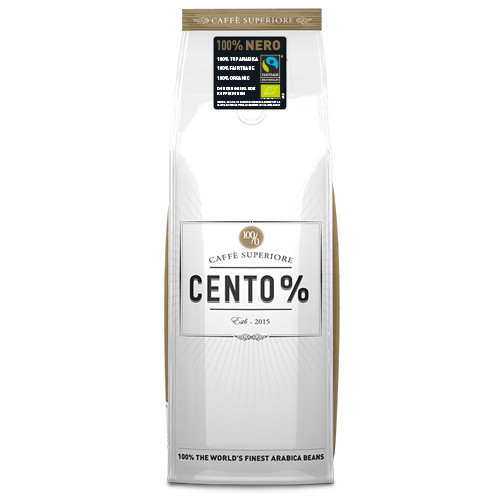Cento % Nero | Fairtrade | KoffiePartners