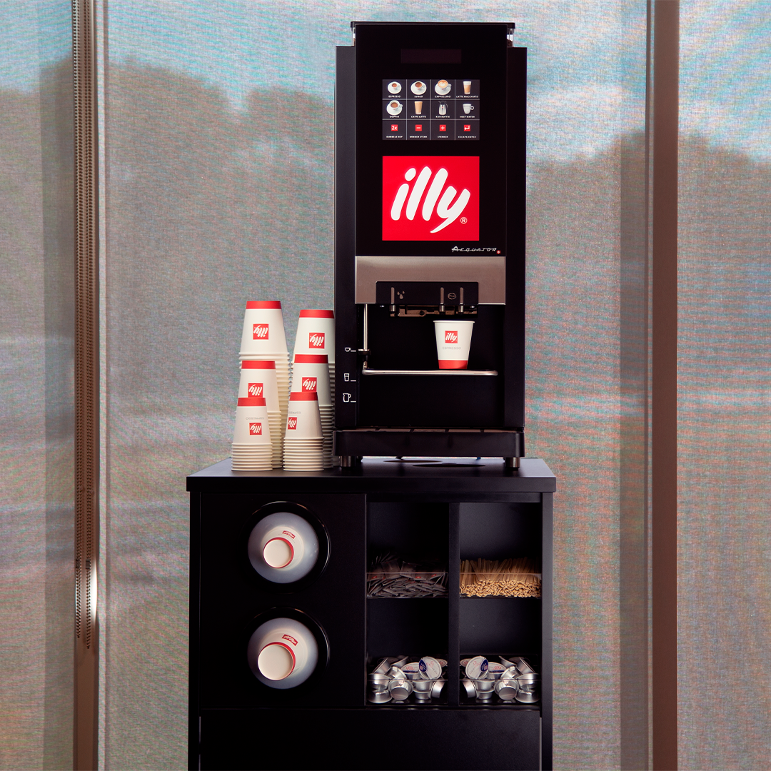 illy branded Aequator | KoffiePartners