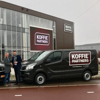 KoffiePartners bedrijfsbus | Uw koffie zakelijk bezorgd
