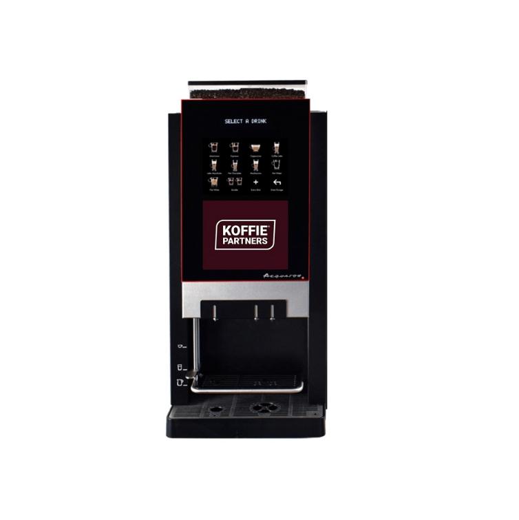 Aequator Mexico KoffiePartners branded | Espressobonen machine | KoffiePartners