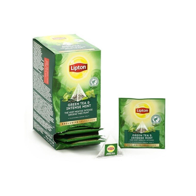Lipton Exclusive Selection | Intense mint | Koffiepartners