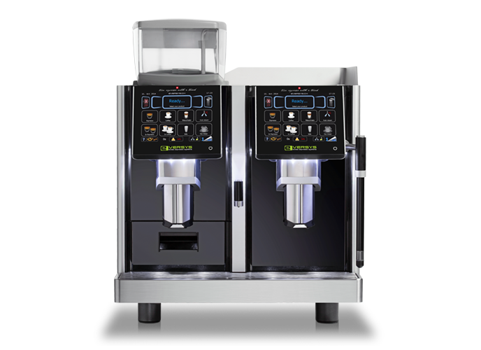 Eversys E4M | Koffiemachine op het werk | KoffiePartners