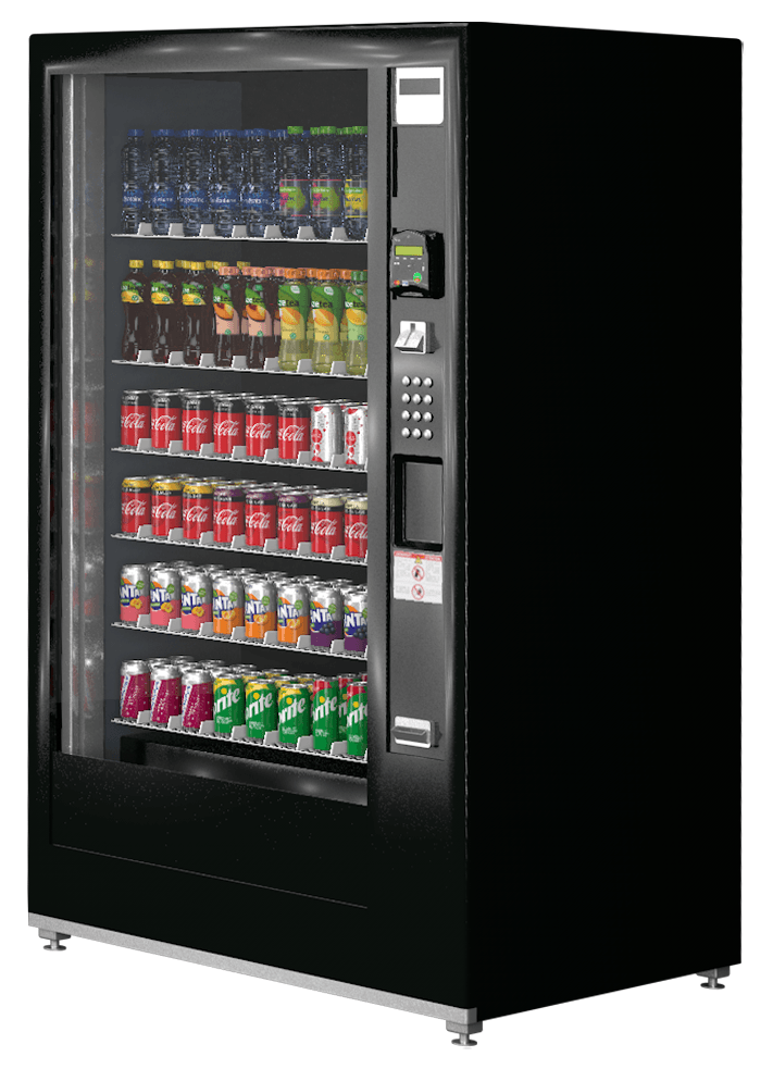 Coca-Cola Glass Front Vendor Robimat XL