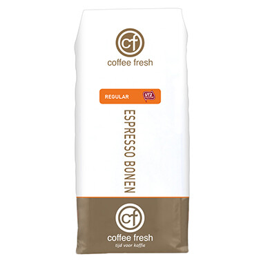 Coffee Fresh Regular espressobonen | KoffiePartners