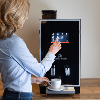 Espressobonen machine