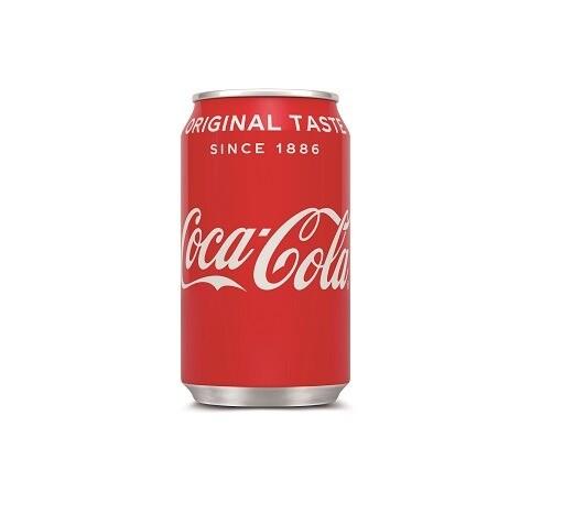 Blikje Coca Cola   KoffiePartners