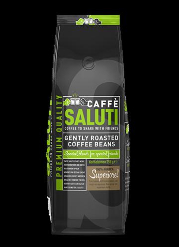 Caffè Saluti   espressobonen   KoffiePartners