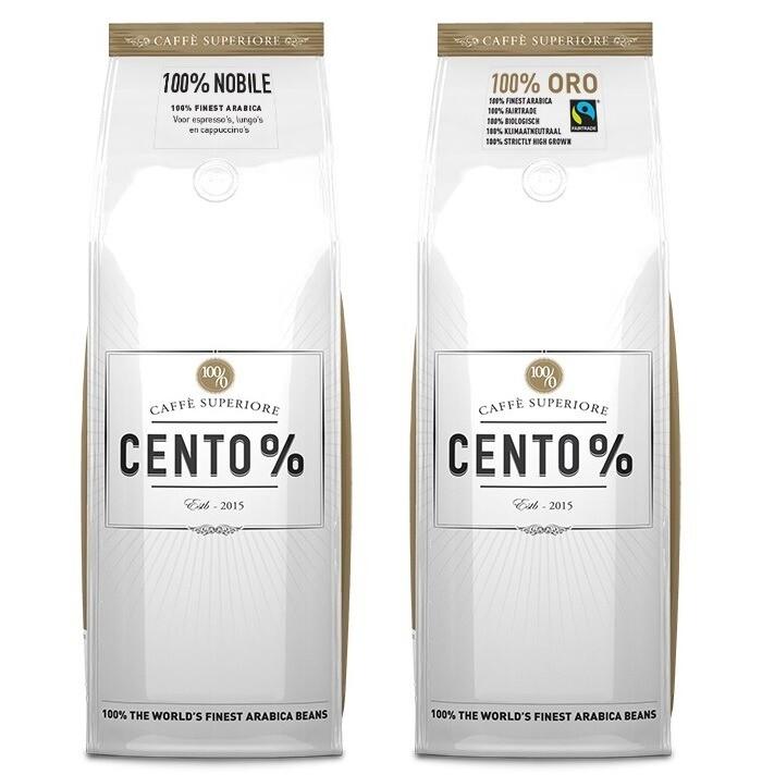 Cento% in Aequator | Koffie voor op kantoor