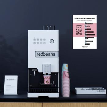 Redbeans koffiecorner met A3 poster | KoffiePartners