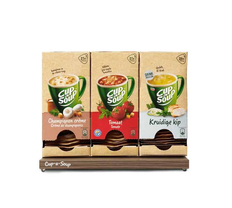 Cup-a-Soup soep op het werk | KoffiePartners