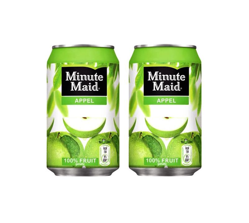 Minute maid appelsap blik | KoffiePartners