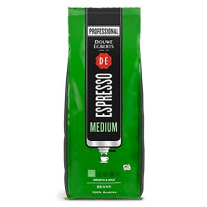 Douwe Egberts Medium Espressobonen | KoffiePartners
