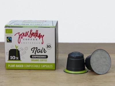 Jones Brothers Coffee Noir Espresso koffiecapsules | KoffiePartners
