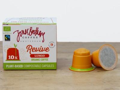 Jones Brothers Coffee Revive Lungo koffiecapsules | KoffiePartners