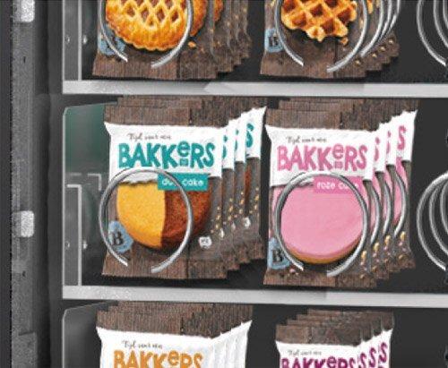 Producten in vendingmachine   KoffiePartners