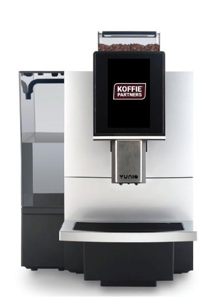 Yunio Big koffiemachine   KoffiePartners
