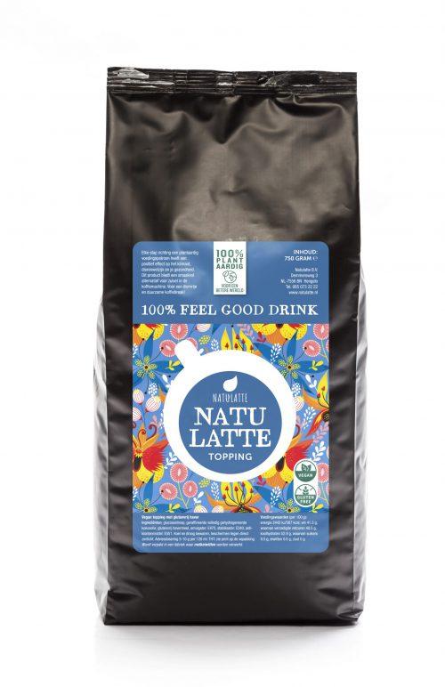 Natulatte Vegan topping 750 gr. | plantaardige koffie melk | KoffiePartners