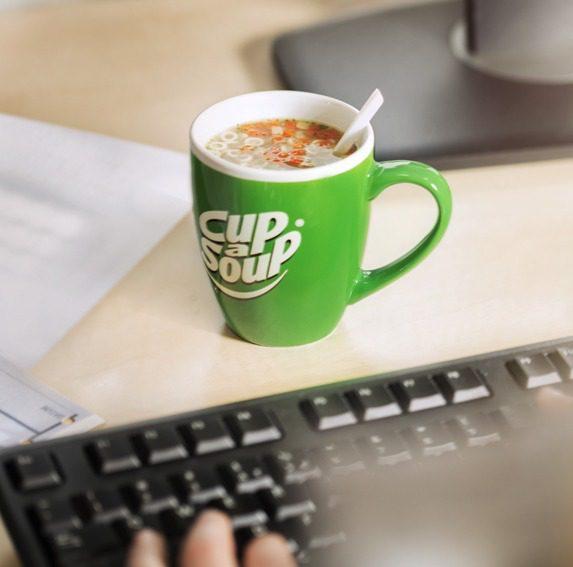 Cup-a-Soup, voorkom 4-uur dip tijdens thuiswerken   KoffiePartners