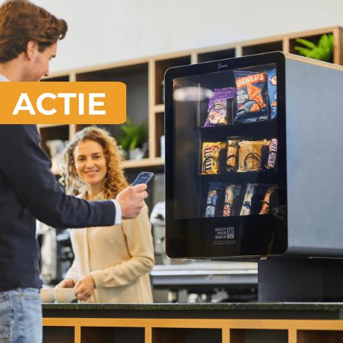 Junea actie | Gratis snacks | KoffiePartners