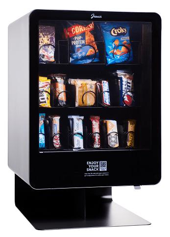 Junea Snacks | Compacte, selfservice vendingmachine | KoffiePartners