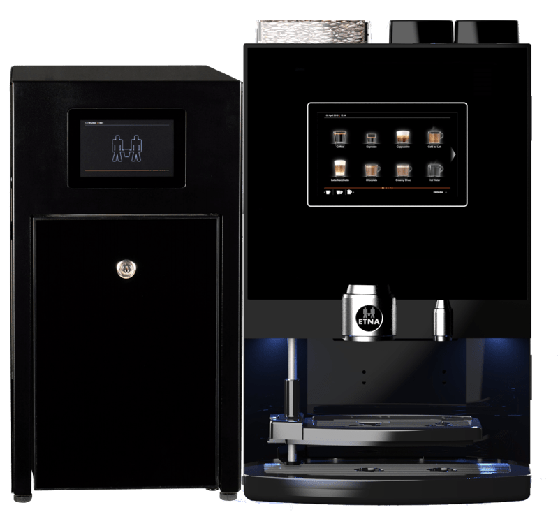 ETNA Dorado Compact Espresso + MilkBase   KoffiePartners