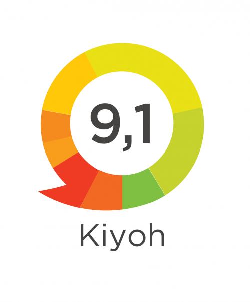 Beoordeling service Koffiepartners op Kiyoh